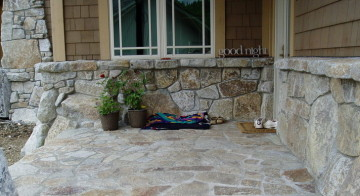 antique white, high cascade, whitetail granite